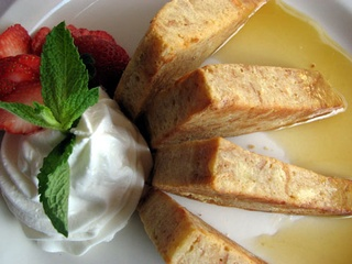 Chez Zee - Creme Brulee French Toast