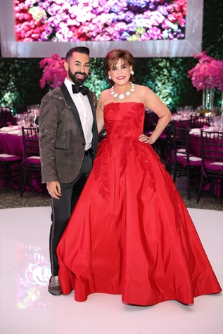 Fady Armanious and Hallie Vanderhider at MFAH Grand Gala Ball