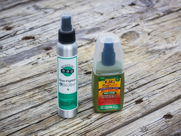 Photo of organic insect repellent products