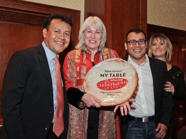 My Table Houston Culinary Awards October 2013 Hugo Ortega and Ruben Ortega