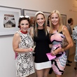 79 Cullen Geiselman, from left, Maggie Vermillion and Laura Robertson at the Blaffer Gala May 2014