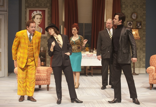 Alley Theatre production of One Man Two Guvnors