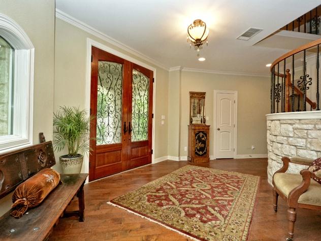 Rollingwood home_West Austin house_3206 Park Hills_Hatley Park Acres_78746_foyer_2015