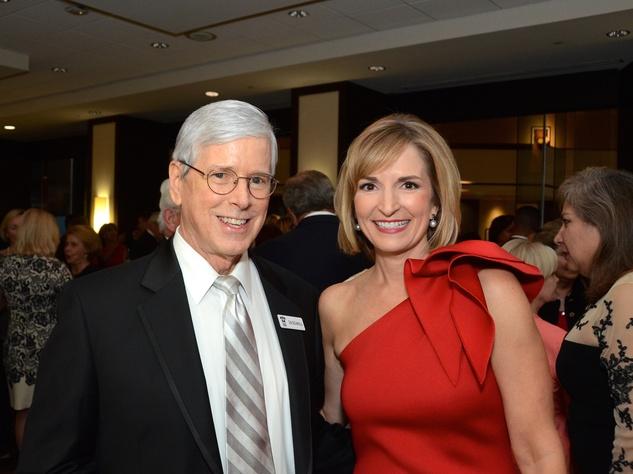 Houston, Crime Stoppers of Houston gala, Nov. 2016, Don DeGabrielle, Devon Anderson