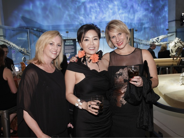 meredith camp, young cho, stacie adams, journey around the sun gala
