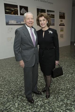 News, Shelby, Museum of Fine Arts donor dinner, Wally Wilson, Jeanie Kilroy Wilson, Jan. 2015