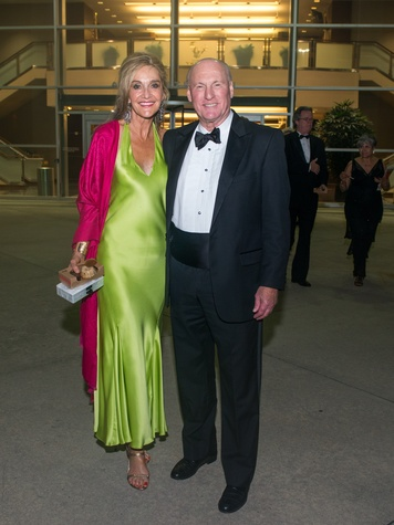 News, Shelby, Alley gala, May 2015 Jana and Scotty Arnoldy