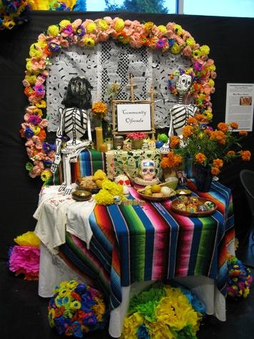 News, Shelby, Lawndale Dias de los Muertos, October 2014, ofrenda