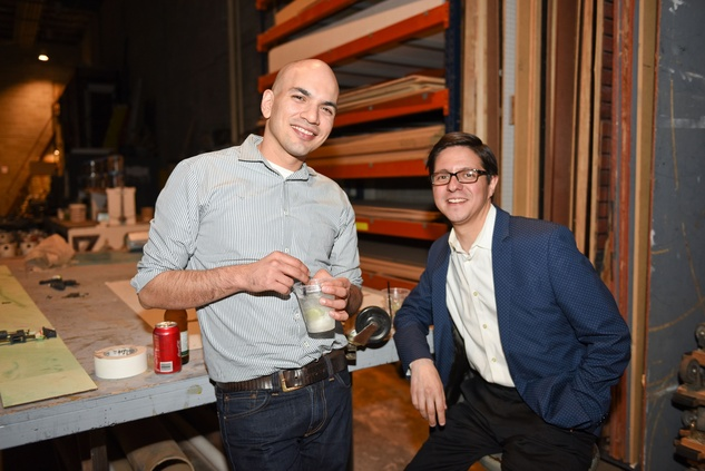 Houston, News, Shelby, Alley Theatre Scene Event, May 2015, Carlos Meltzer, Nick Espinosa