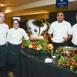 2 Justin Wyckoff, from left, Shelby Robinson, Patrick Dominguez and James Kane at Taste of the Texans November 2013