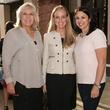 Paige Flink, Mandy Austin, Melissa Sherrill, Partners Card Kickoff