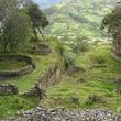 Stephan Lorenz Travels in Peru October 2013 Terraced fields beyond Kuelap's ruins