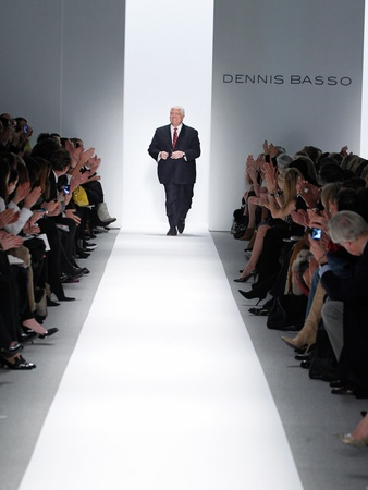 Fashion Week fall 2013, Dennis Basso, February 2013, designer