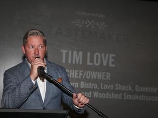 CultureMap Tastemaker Awards 2016 at Bob Bullock Museum Tim Love