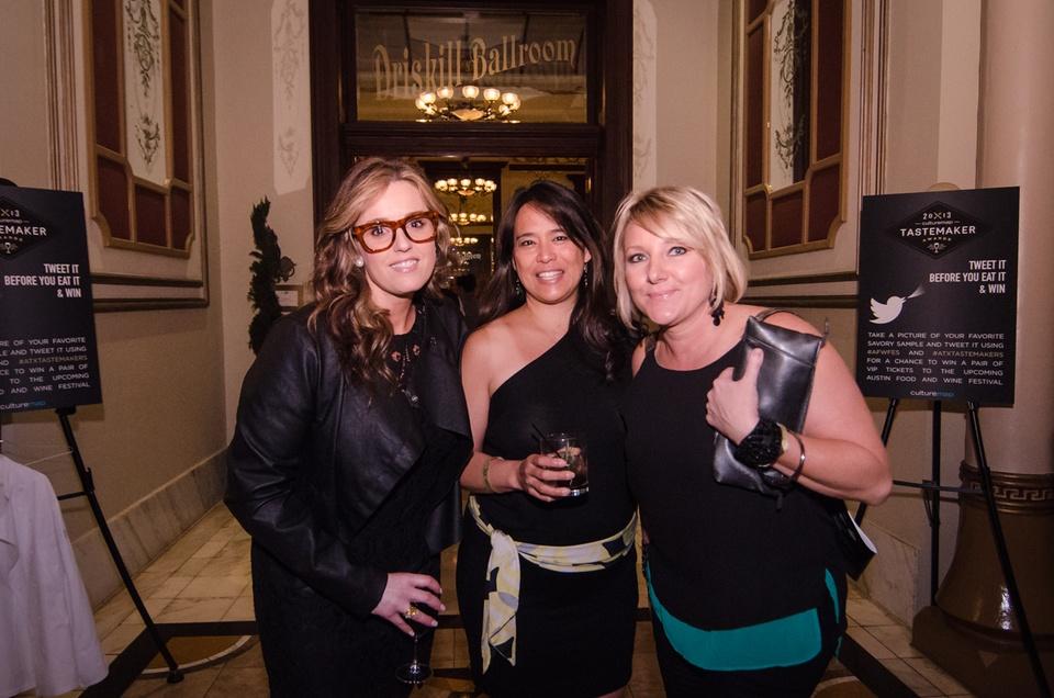 Kim Bacon, Maria Ocampo and Kim Turney