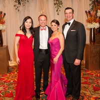 Heart Ball, Feb. 2016, Catherine Higgins, John Higgins, Lacey Goossen, Matthew Goossen