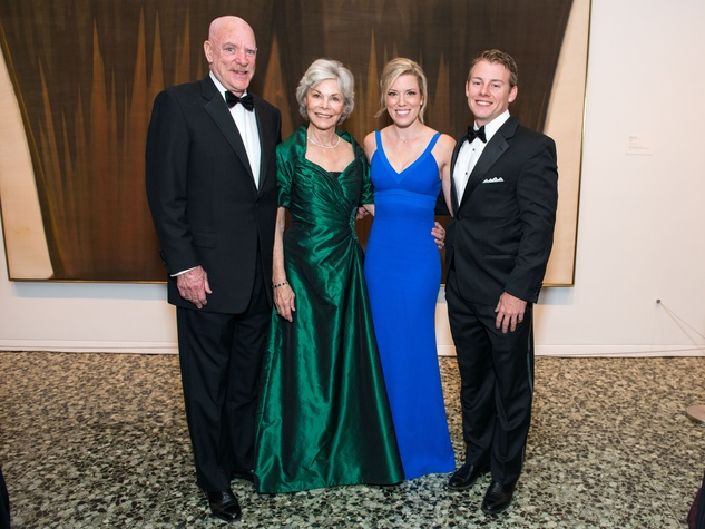 18 Bob and Janice McNair, from left, Holly A.N. Smith and Austin Alvis at the MFAH Grand Gala October 2014