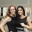 5 Hannah Lonergan, left, and Lauren Granello at WOW with Kendra Scott October 2014