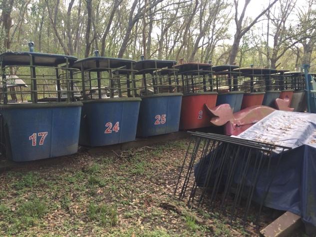 Astroworld Houston gondolas eBay March 2015