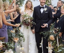 Kate Upton Justin Verlander wedding photo