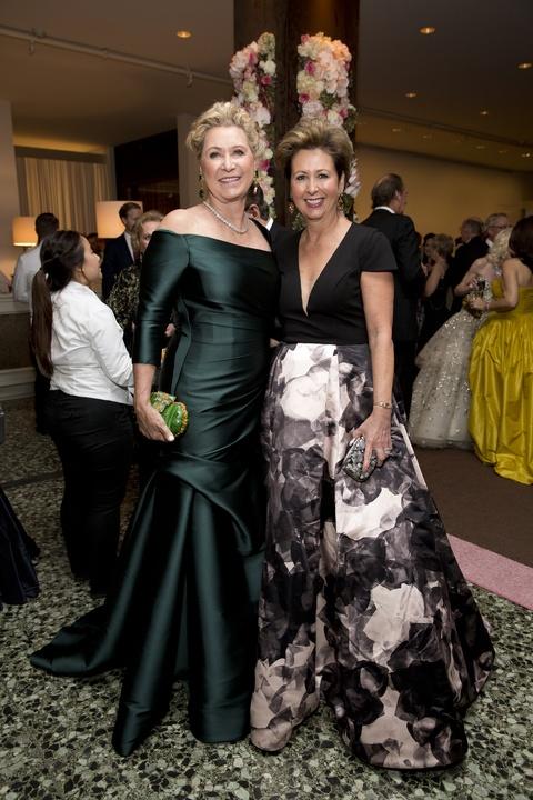 Carol Linn, Ileana Trevino at Museum of Fine Arts Grand Gala Ball