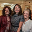 Donna Vallone, from left, Penny Loyd and Jane Block at the Huffington Center on Aging luncheon October 2014