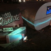 Austin photo: Places_Arts_Blue Starlite Urban Drive-in_Sign