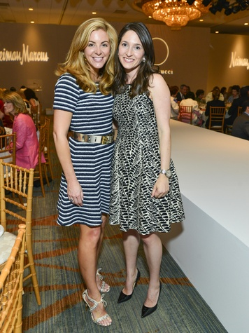 Kristen Nix, Allison Leibman, at the Best Dressed luncheon March 2014