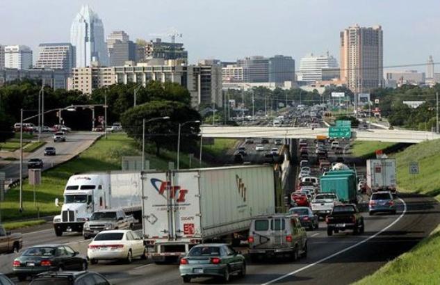 Austin Photo Set: News_John Egan_Austin Traffic_Aug 2012_traffic jam