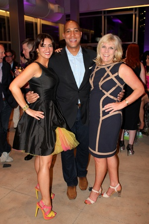 Jennifer Strauss, Robert Weatherly, Paige Flink, Neiman Marcus, Stiletto Strut