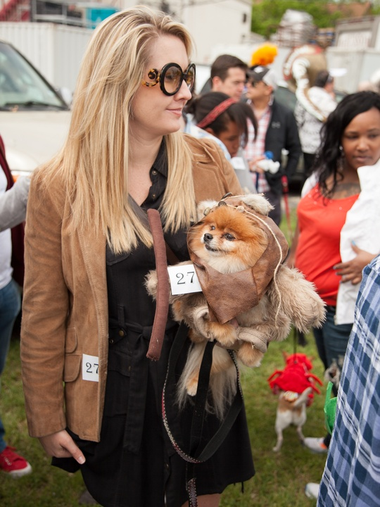 Jo's 16th Annual Pet Parade in Austin Amanda Skillern Ewok Bear