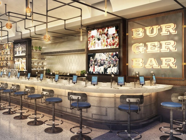 Burger Bar at Bush Intercontinental Airport
