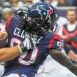 Clowney Texans Falcons blow by