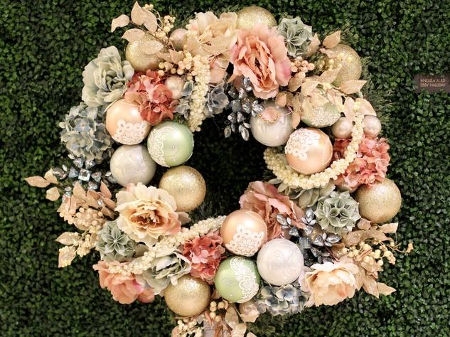 Angela Auld, Ebby Halliday, DIFFA Wreaths