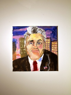 CentralTrak presents The Paintings of George W. Bush