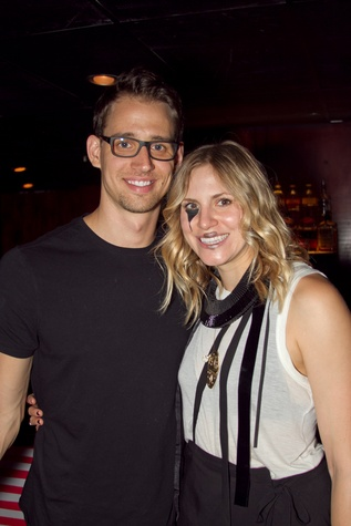 John Cybulski and Velvet Dust Magazine Editor-in-Chief Jessica Thompson