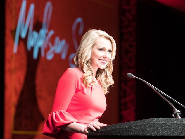 Madison Sawyer, CBS 11, Go Red 2018 Fort Worth