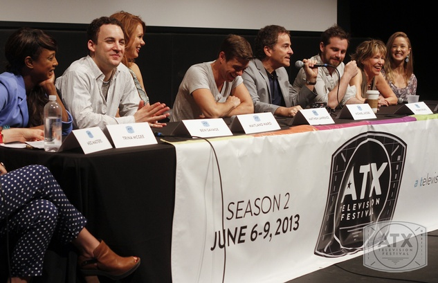 Cast of Boy Meets World at ATX Television Festival at State Theatre