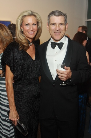 The Menil 25th anniversary gala, December 2012, Janet Hobby, Paul Hobby