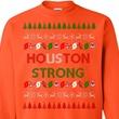 Houston orange ugly sweater