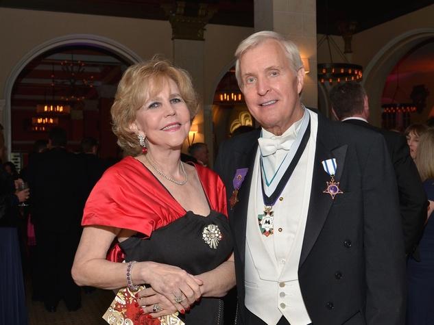 Joan and Doug McLeod at the Knights of Momus Coronation Ball February 2014