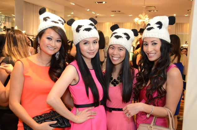 5 Vivian Vy Nguyen, from left, Jacqueline Nguyen, Jacqueline Nguyen and Vy Le at Mandy Kao and Nihala Zakaria birthday party October 2014