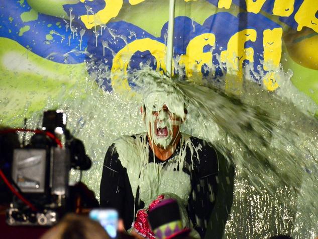 1 Children's Museum of Houston slime-off October 2013 KPRC new feature reporter Ruben Galvan