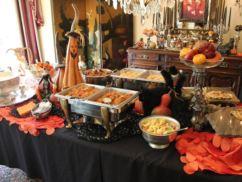 Slideshow wicked witches play trick or toy houston for Halloween dinner party food for adults