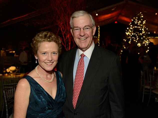 12 Laura Bellows and Jack Pendergrast at the Texas Children's Ambassadors Holiday Party December 2013