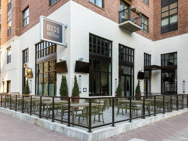 Houston, new patios, April 2017, Osso and Kristalla
