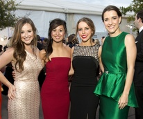 Houston, Zoo Ball Aquatic Affair, April 2017, Alexandra Borreca, Elizabeth Shafer, Ashley Trauber, Isabel Torras
