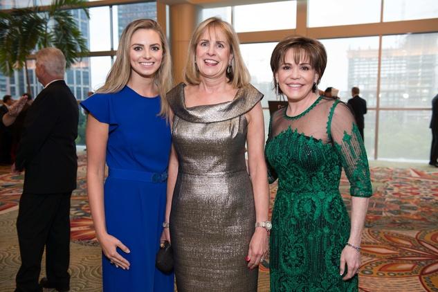 Houston, Galaxy Gala Space Center, May 2015, Katherine Vilutis, Barbara Vilutis, Hallie Vanderhider