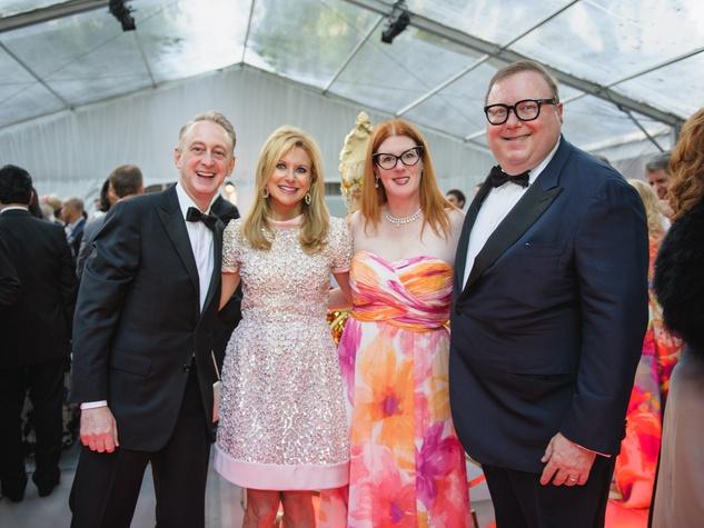 Trevor Pearlman, Elaine Pearlman, Anne Stodghill, Steve Stodghill at Art Ball 2014