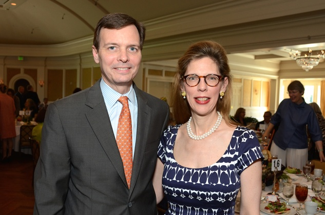 133 Glen and Haley Eichelberger at the Houston Center for Contemporary Craft spring luncheon May 2014